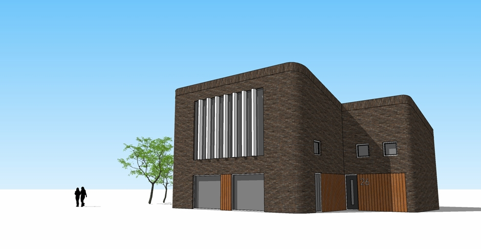 architect zwolle 2-onder-1-kap zwolle 3