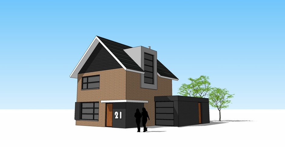 New De Tekenwerkplaats - Architect Zwolle - projecten - wonen verbouw #GX16