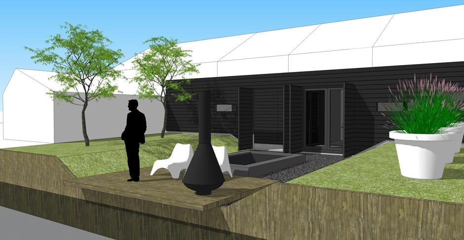 architect zwolle tuinkamer sedumdak veluwe 01