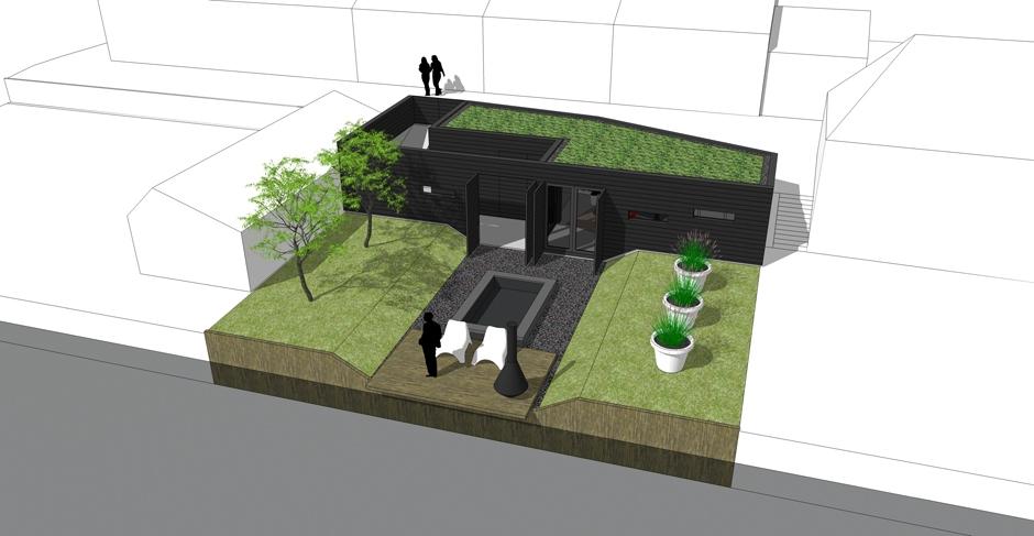 architect zwolle tuinkamer sedumdak veluwe 02