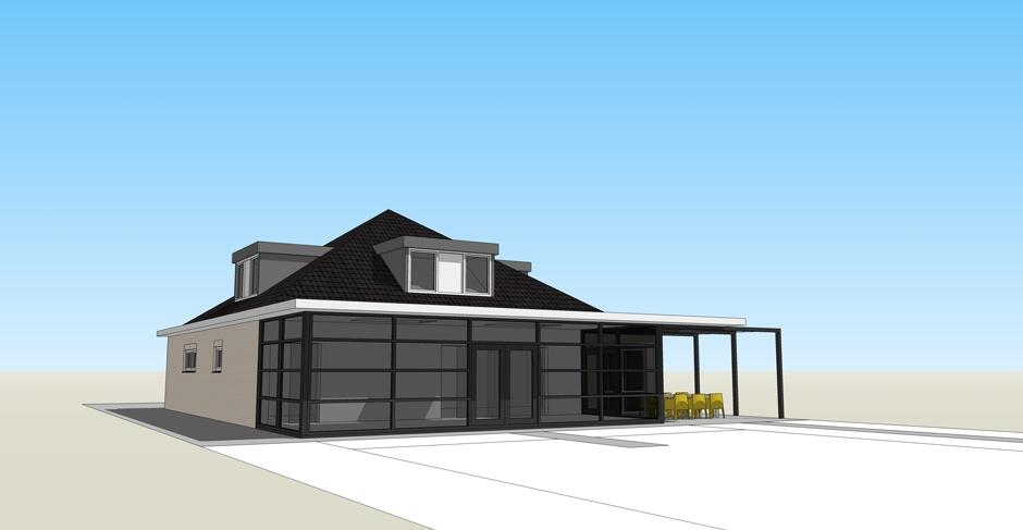 architect zwolle uitbouw golfpark 03